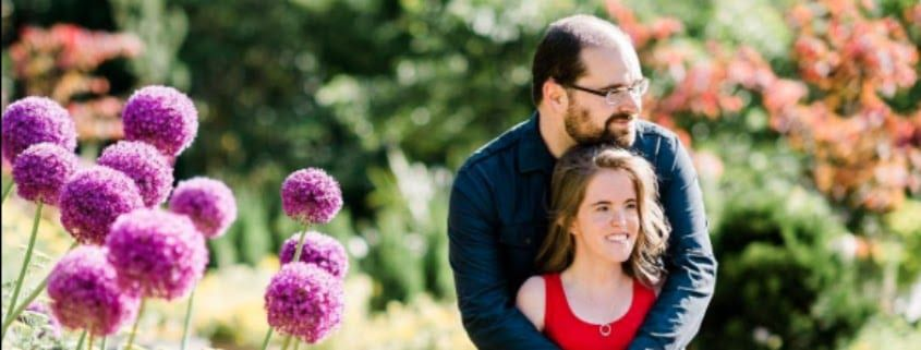 bunn dj company wedding sarah duke gardens