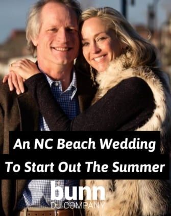 nc beach wedding dj