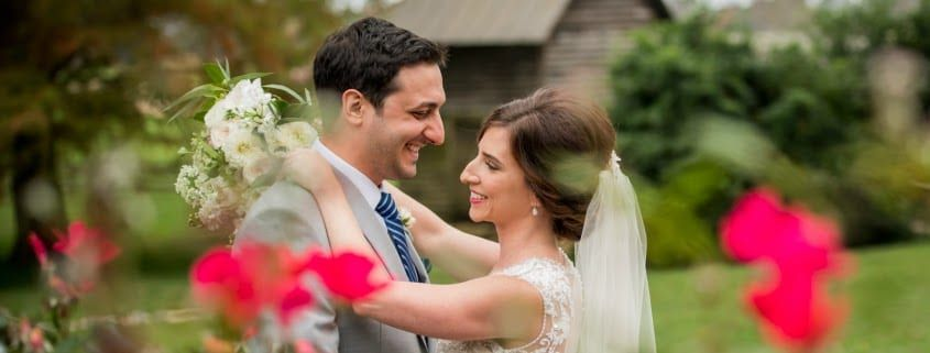 bunn dj company wedding rose hill plantation