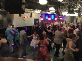 Dancing at Amy & Brian's Wedding