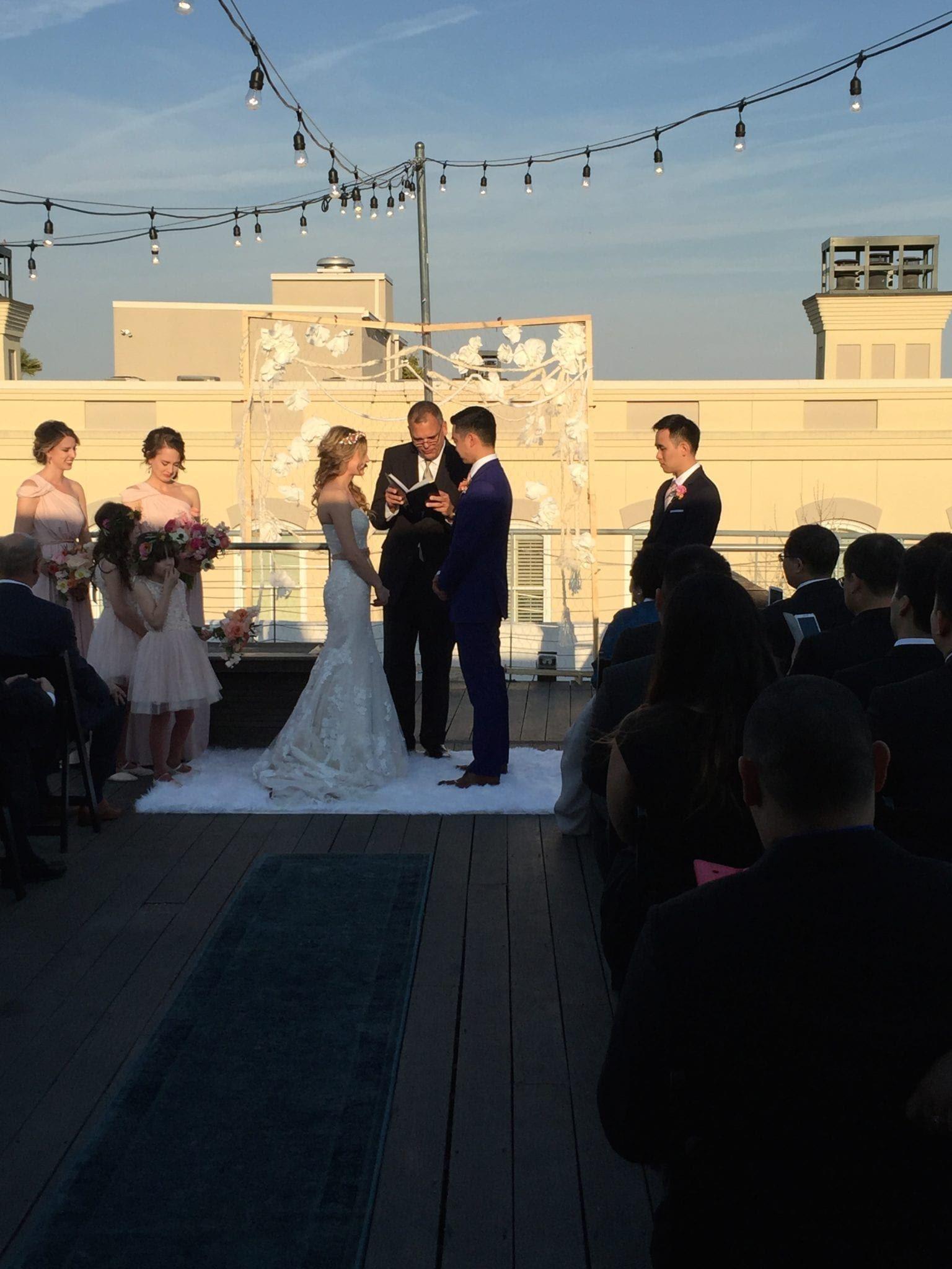 bunn dj company wedding at the vendue, charleston dj