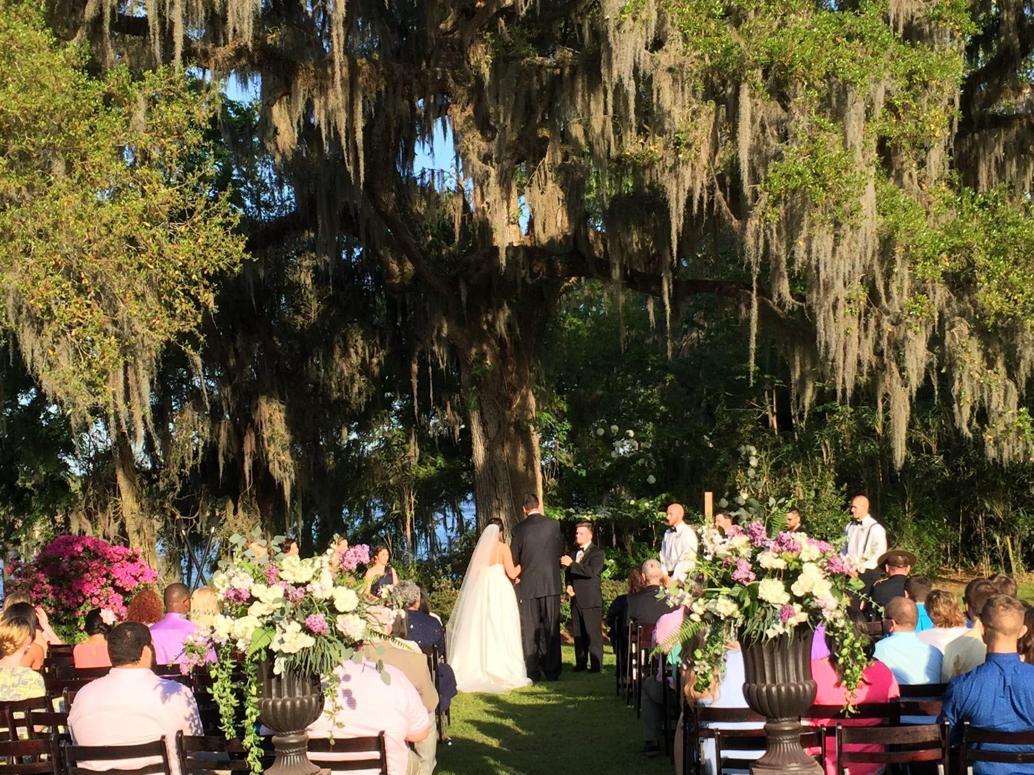 Jory and Nicky\'s Magnolia Plantation Wedding | Bunn DJ Company