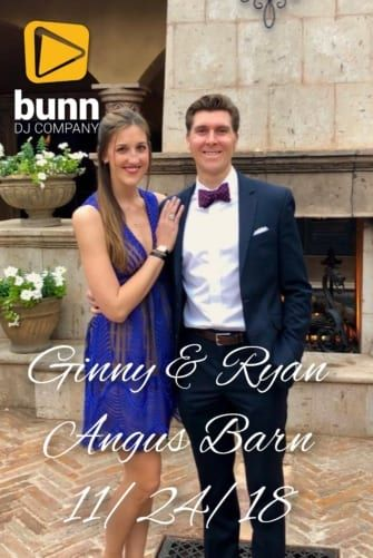 angus barn pavilion wedding dj bunn dj company