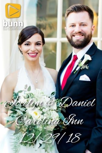 carolina inn wedding dj bunn dj company