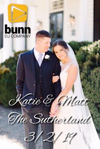 sutherland wedding dj Bunn Dj company