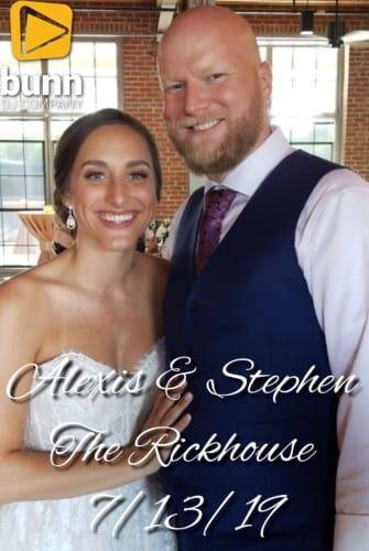 Rickhouse wedding dj Bunn Dj company