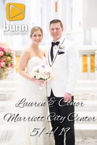 Marriott city center wedding dj Bunn DJ company