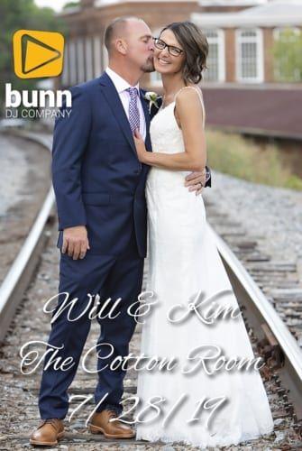 cotton room wedding dj Bunn dj company