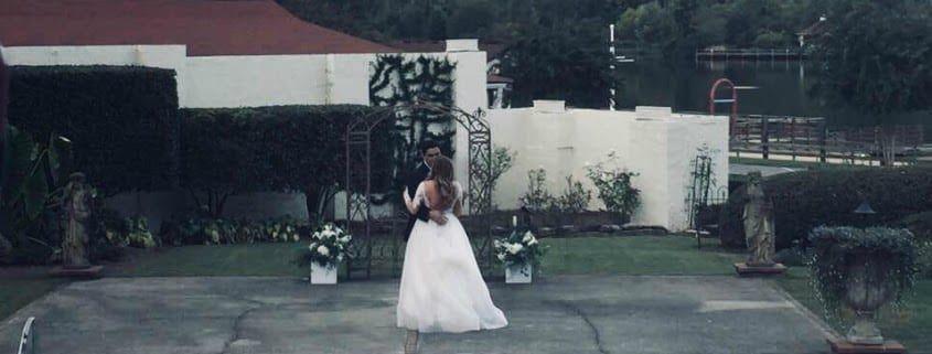 bunn dj company wedding lake lure