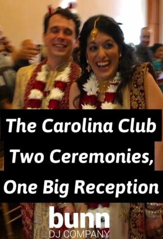 wedding dj carolina club chapel hill nc