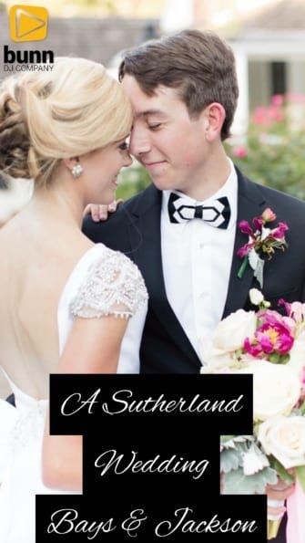 sutherland wake forest wedding dj bunn dj company