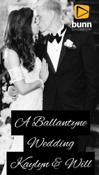 ballantyne wedding dj charlotte nc bunn dj company