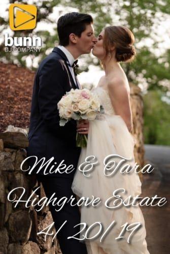 highgrove estate wedding dj bunn dj company
