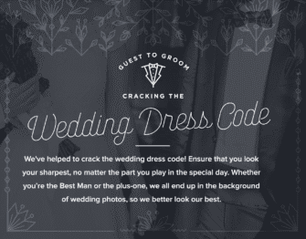 wedding dress code guide